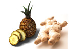 pineapple & ginger are unique ingredients